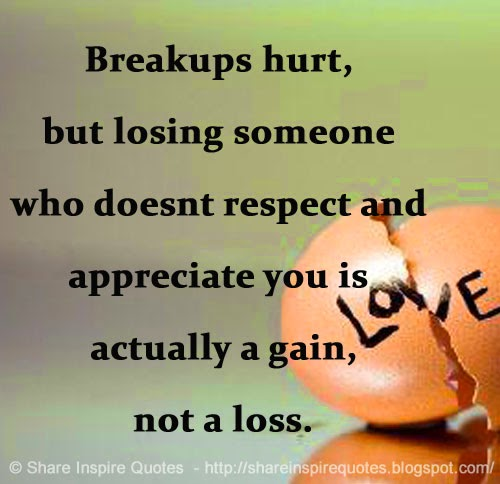 losing respect for someone you love