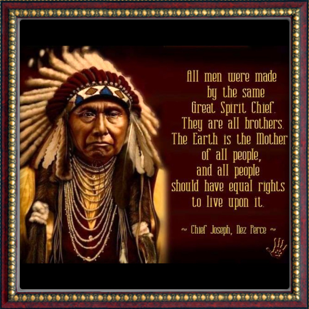 Famous Indian Quotes About Life: Chief Joseph Quotes. QuotesGram