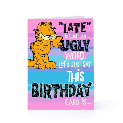 Garfield Birthday Quotes Quotesgram