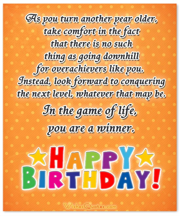 Birthday Quotes Another Year Older