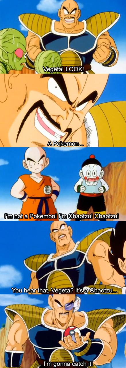 Dbz Abridged Nappa Quotes Quotesgram