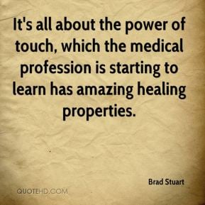 The power of therapeutic touch essay