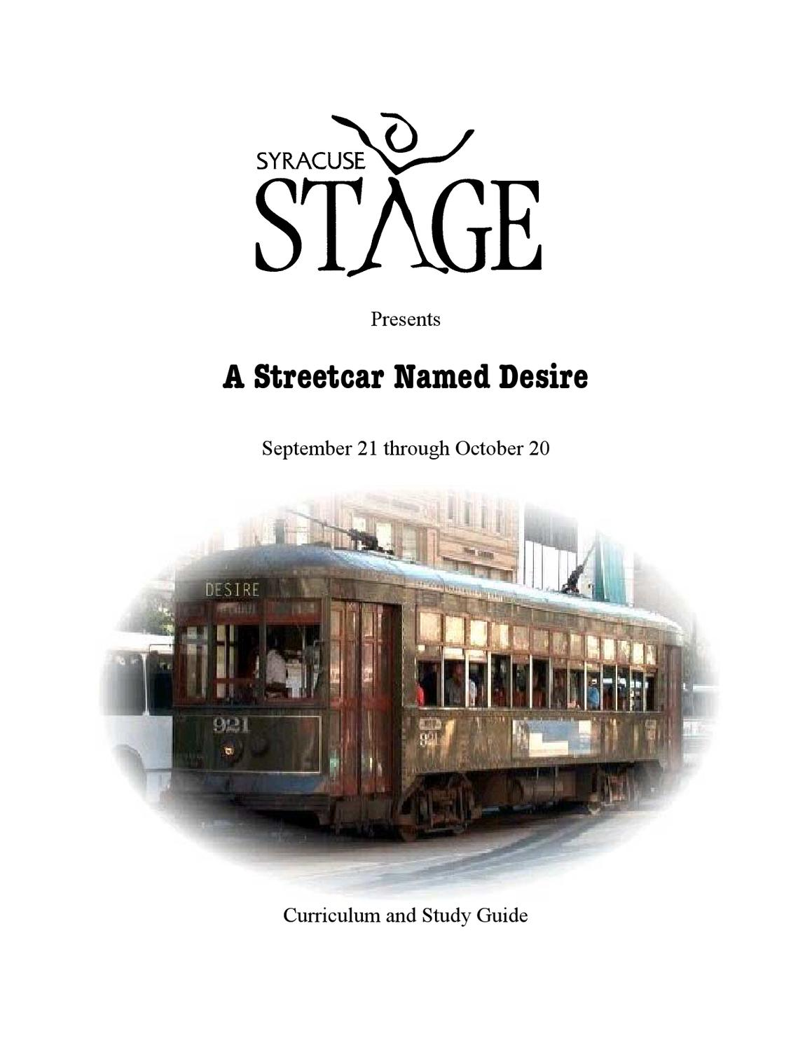 streetcar essay Free essays from bartleby | illusions and fantasy in tennessee williams' a streetcar named desire 'a streetcar named desire', by tennessee williams, explores.