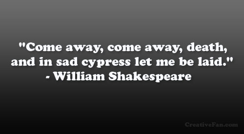 shakespeare quotes on death quotesgram
