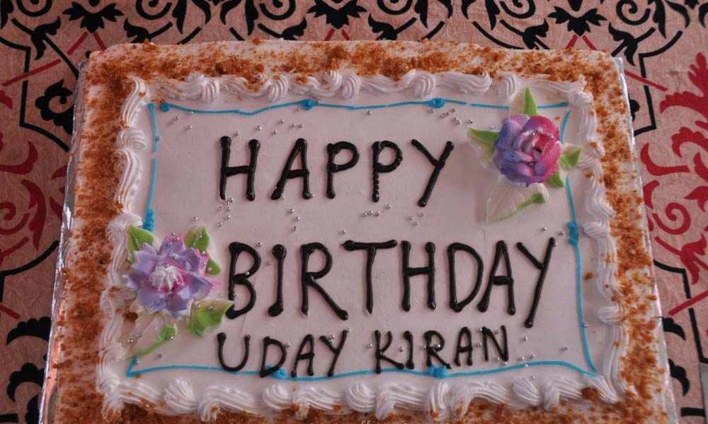 Birthday Cake Kiran Images : Uday Kiran Quotes. QuotesGram