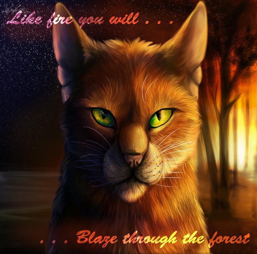 Warriors Cats Into The Wild Movie: Best Warrior Cat Quotes. QuotesGram