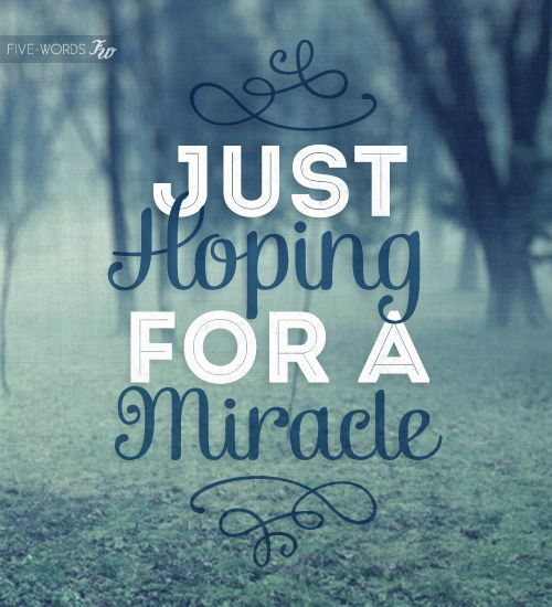 Miracle Baby Quotes: Miracle Cancer Quotes. QuotesGram