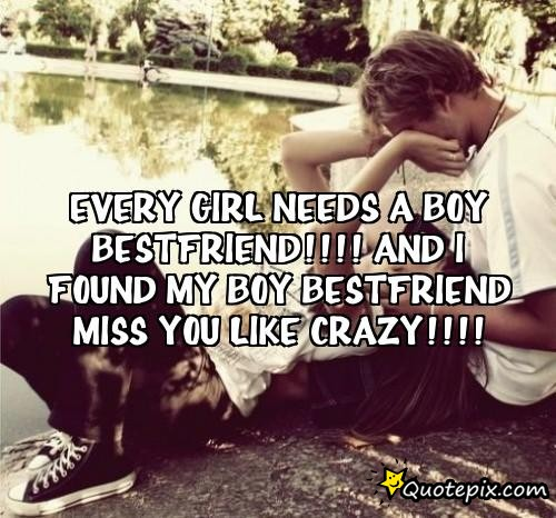 Boy N Girl Friendship Quotes: Every Girl Needs A Boy Best Friend Quotes. QuotesGram