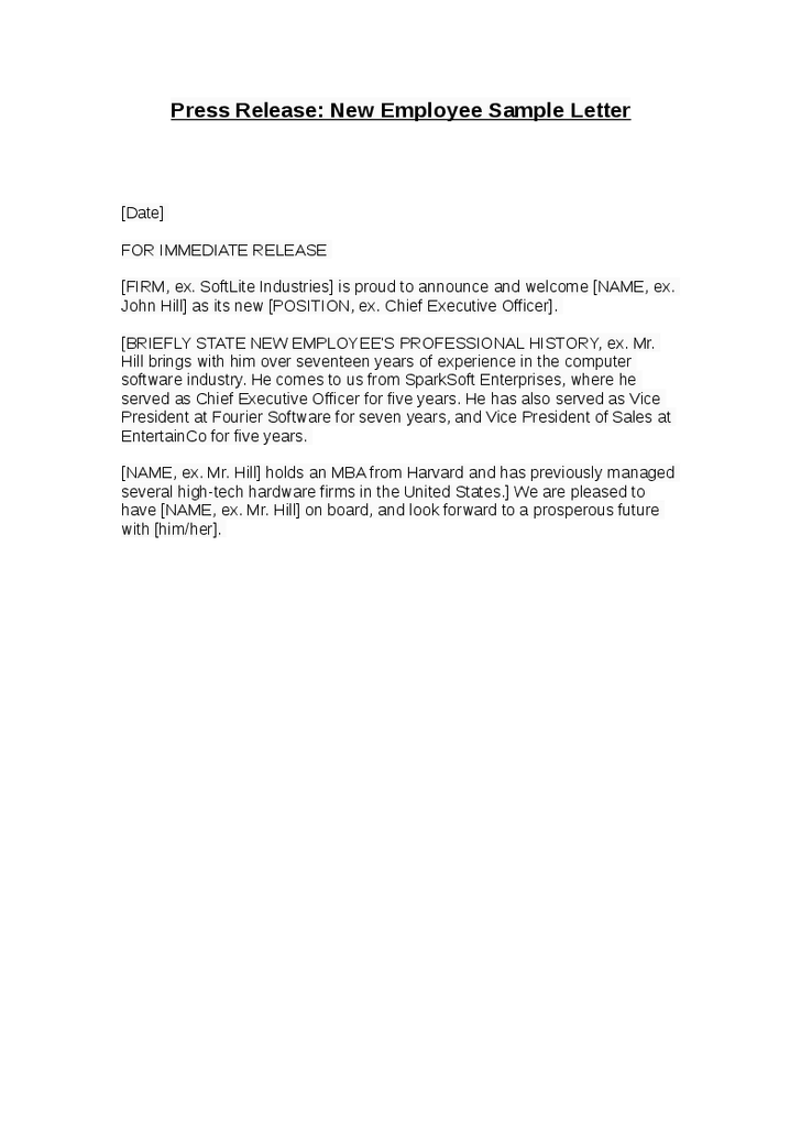 Sample Letter To Customers Announcing New Website