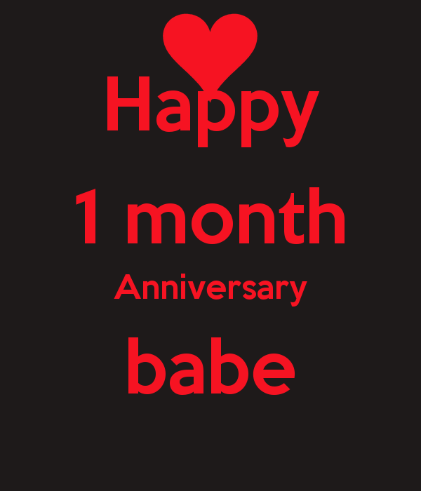 Funny One Month Anniversary Quotes: Cute 1 Month Anniversary Quotes. QuotesGram
