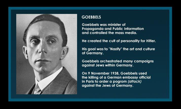 Goebbels Propaganda Quotes. QuotesGram