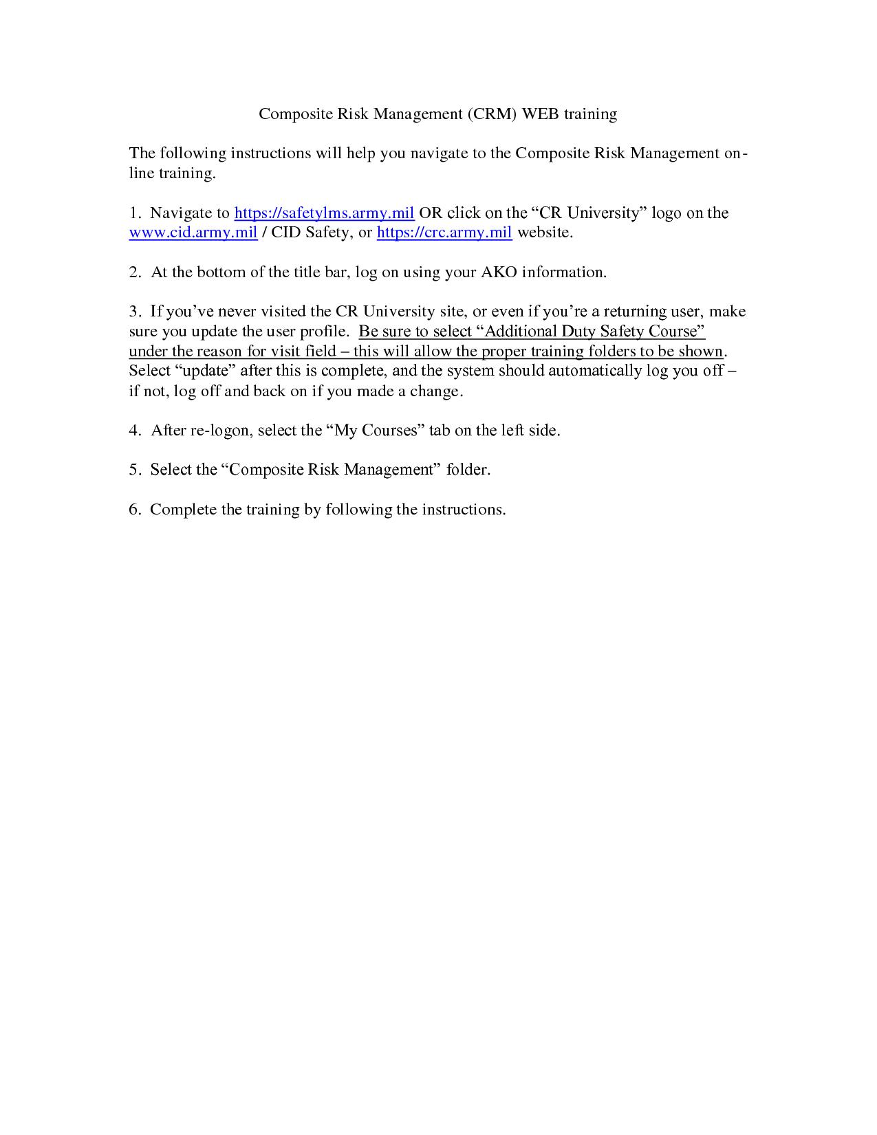 worksheet Army Composite Risk Management Worksheet composite risk management certificate certipo com quotes quotesgram
