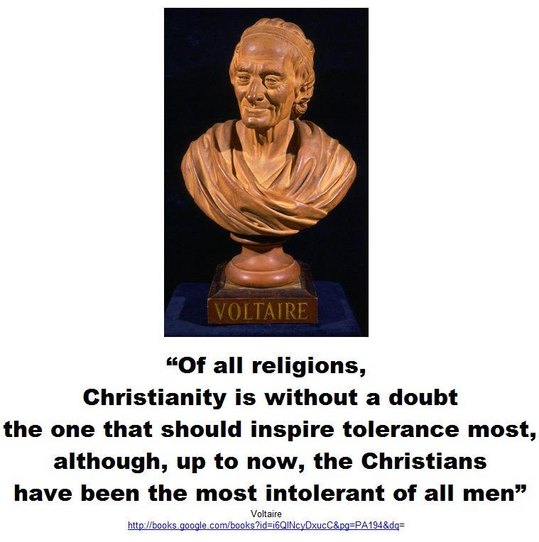 Voltaire Quotes Christianity. QuotesGram
