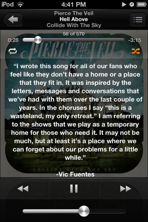 Vic Fuentes Tumblr Quotes Vic Fuentes Inspiratio...