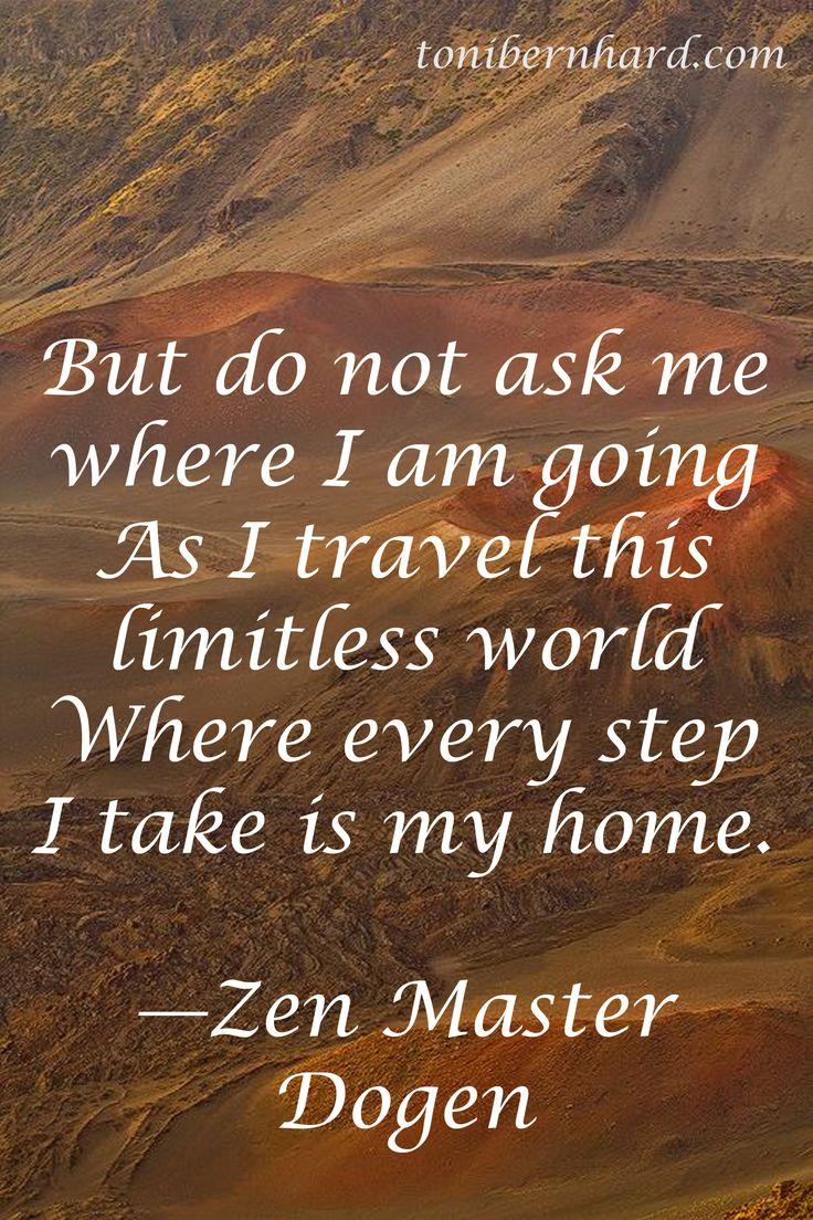 Zen Master Dogen Quotes Quotesgram
