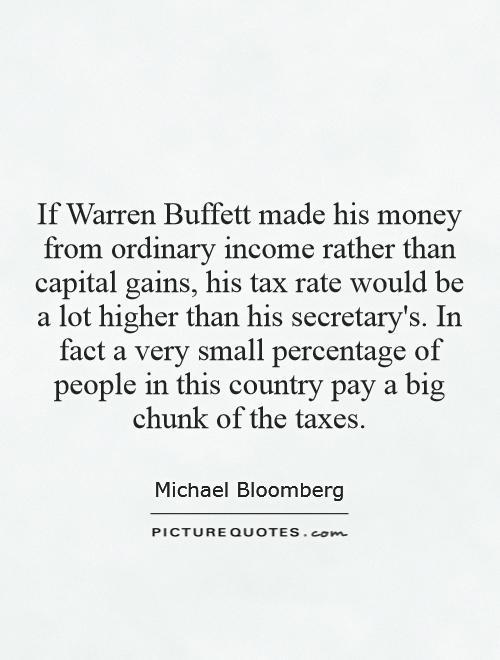 warren buffett tax essay The essays of warren buffett: once you understand the basic principles of tax reduction, you can begin the buffett essays symposium.