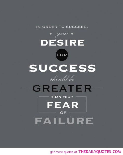 Fear Of Success Quotes. QuotesGram