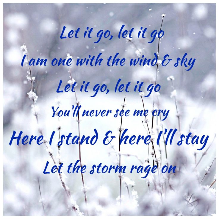 Quotes From Frozen Frozen Let It Go Quote...