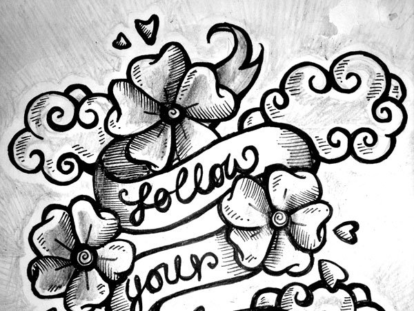 Inspirational Quotes With Drawings: Cute Flowers Drawings With Quotes. QuotesGram