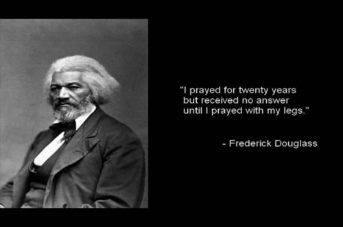 Frederick douglass in the shackles of slavery