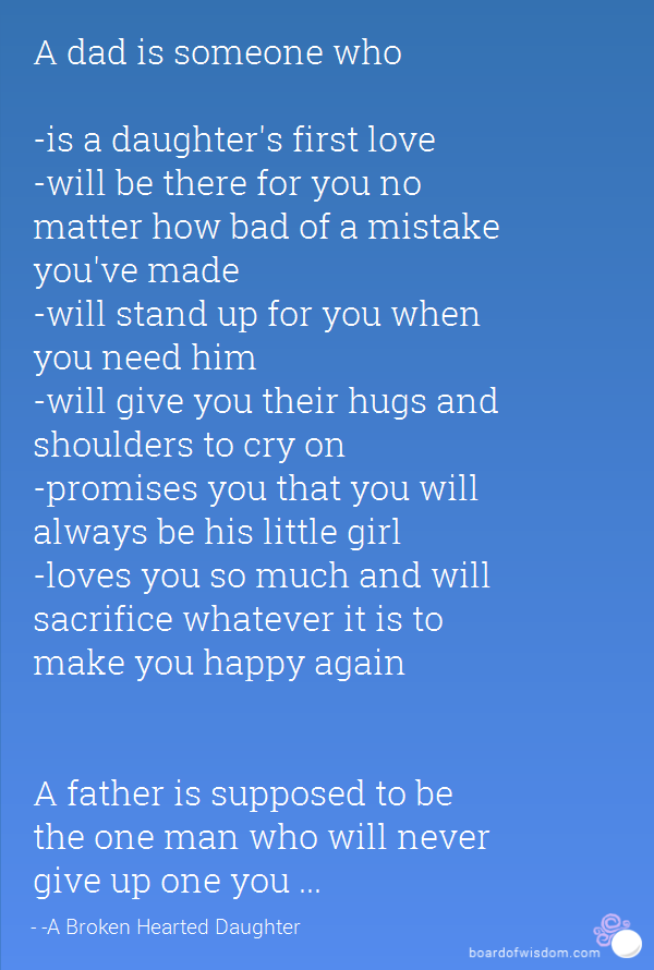Bad Father Quotes From Daughter. QuotesGram