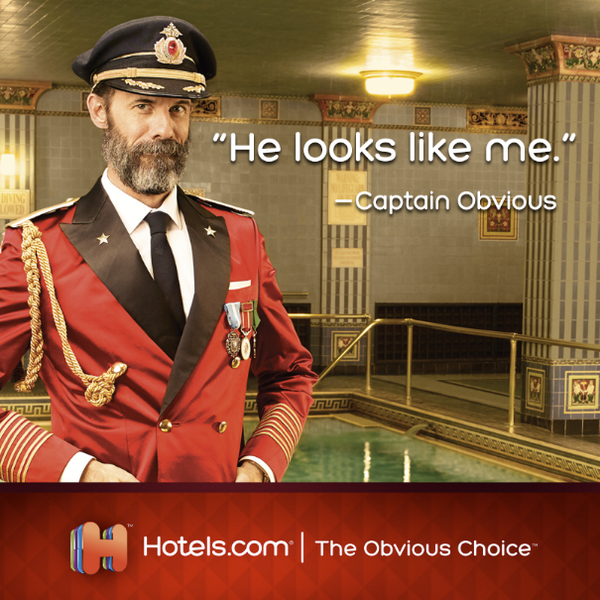 Hotels Captain Obvious...