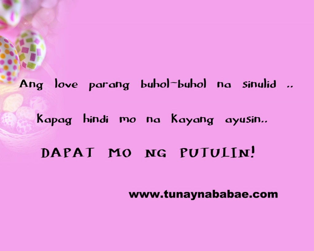 Quotes About Crush Tagalog Patama