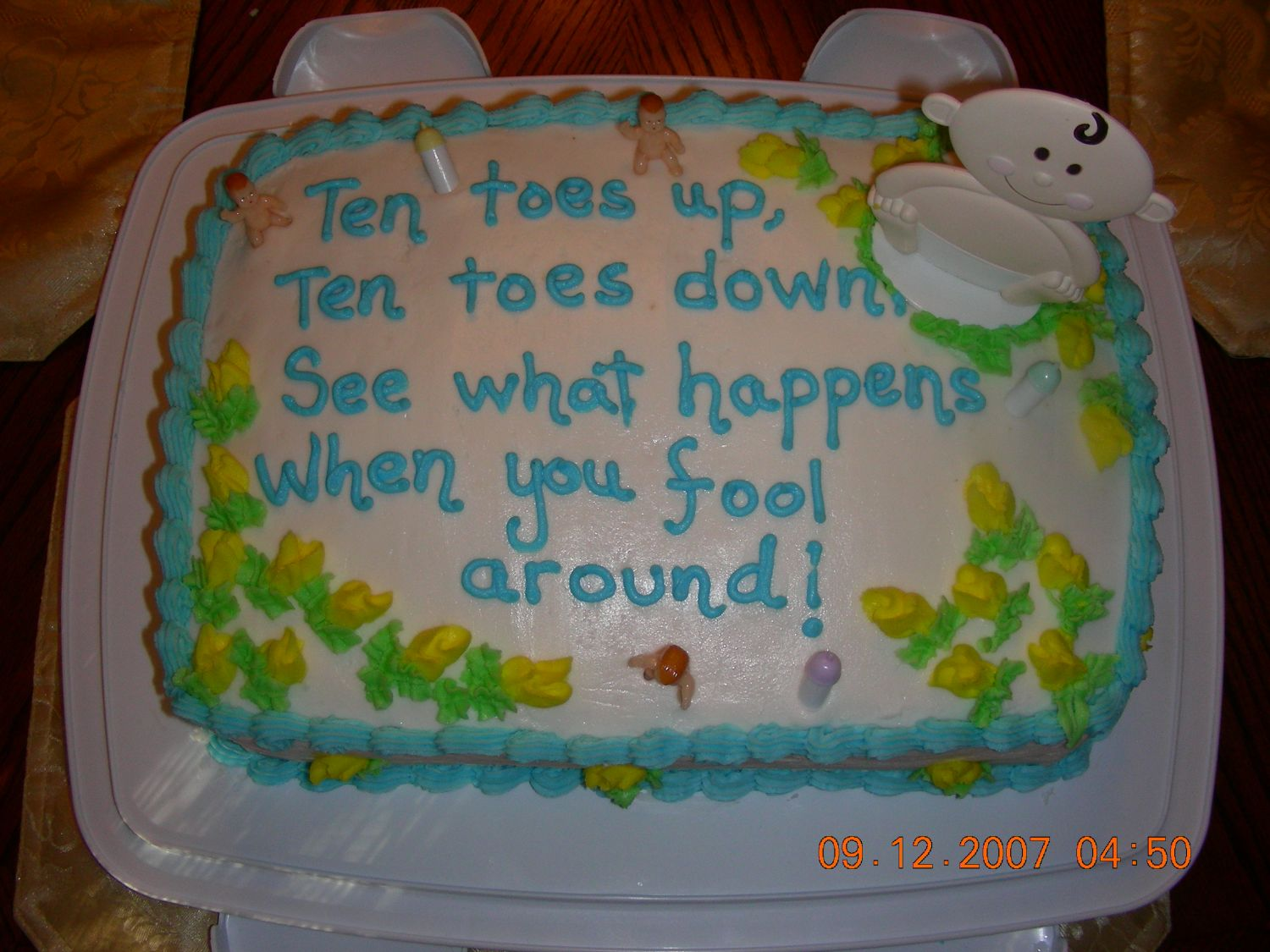 Funny Baby Shower Cake Quotes ~ Quotes for baby cakes quotesgram