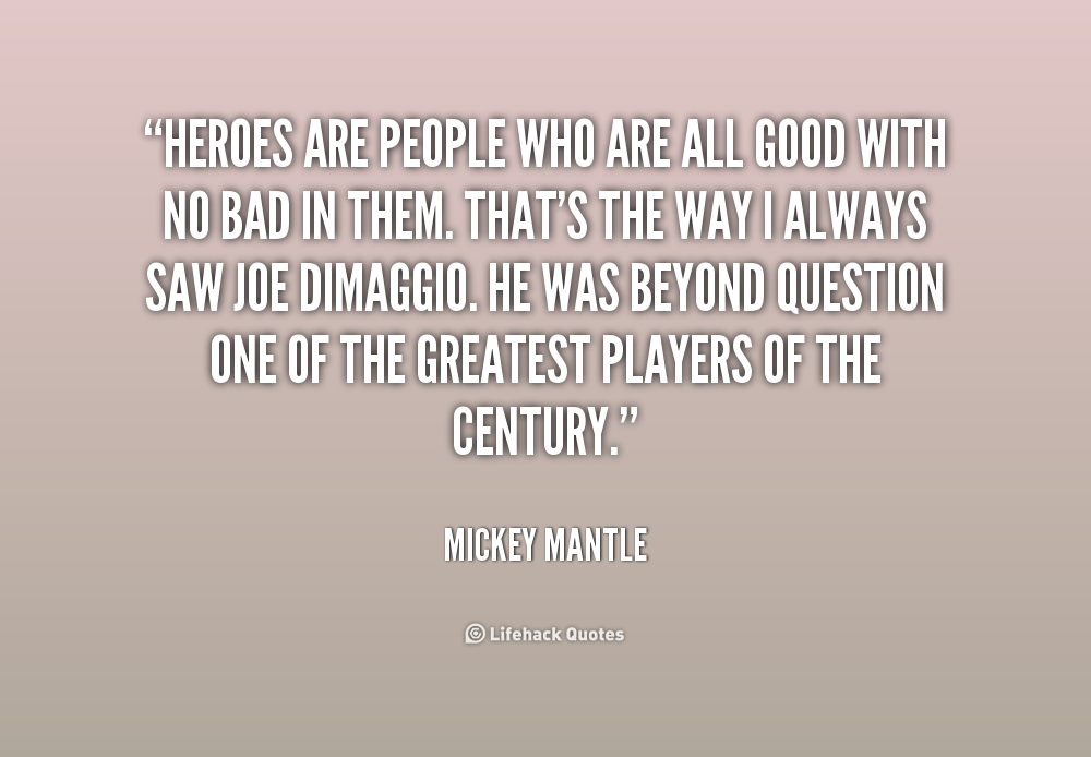 Mickey Mantle Quotes. QuotesGram
