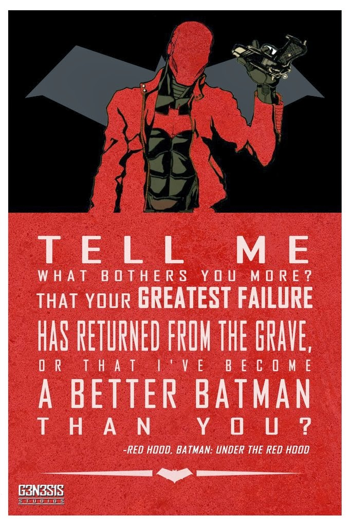 A poster series of inspirational quotes from DC Comics