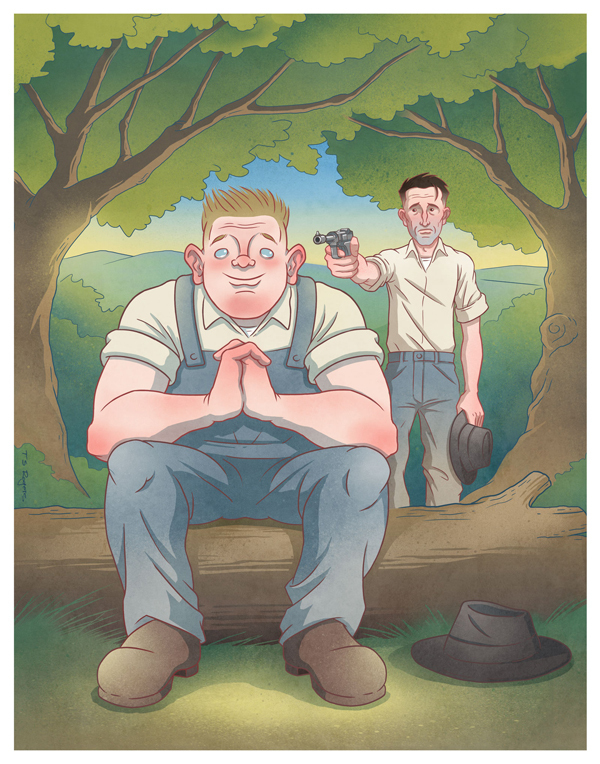 a comparison of novel and movie of mice and men Home → sparknotes → literature study guides → of mice and men → study questions of just as lennie is killed at the end of the book the comparison.