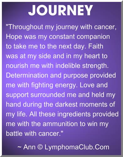 cancer journey quotes quotesgram