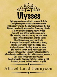 ulysses tennyson essay Read this full essay on ulysses by tennyson ulssyes: a summaryø tennyson's poem 'ulysses' is centred upon the mythological character ulysses, ( call.