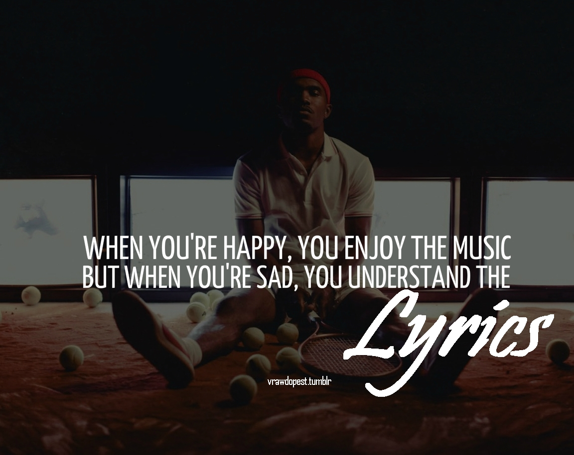 Frank Ocean Quotes About Heartbreak. QuotesGram