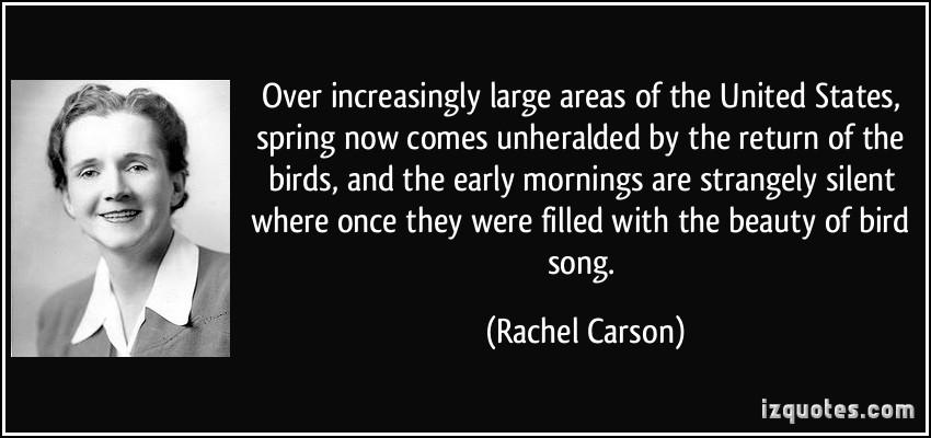 silent spring rachel carson quotes quotesgram