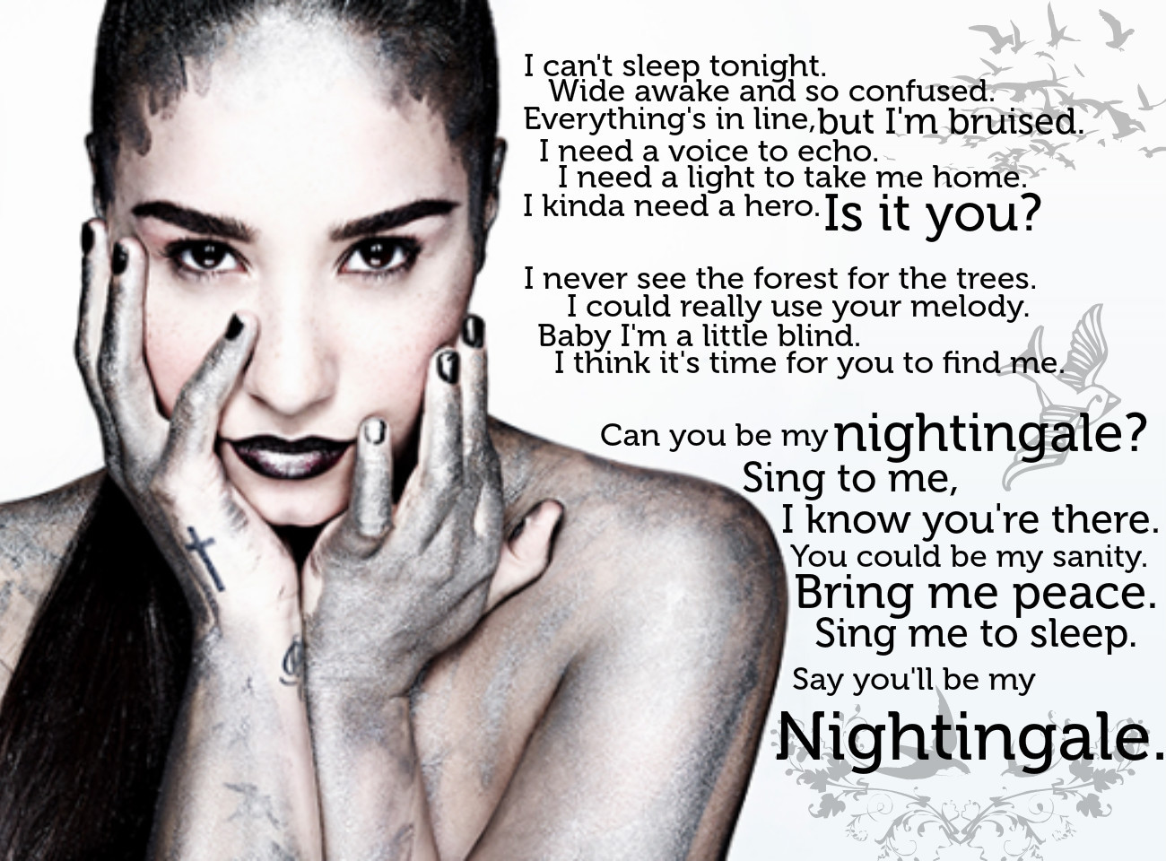 Katy Perry Song Quotes Demi Lovato Lyric Quot...