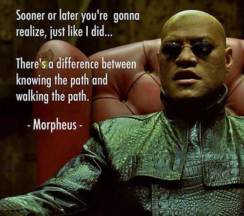 Famous Matrix Quotes. QuotesGram