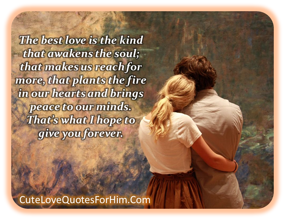 Beautiful Love Quotes For Him Quotesgram: Real Love Quotes For Him. QuotesGram