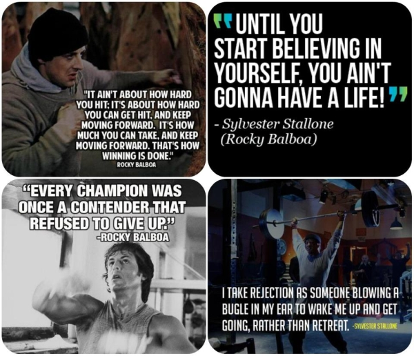 Rocky Balboa Life Is Hard Quote: Rocky Fighting Quotes. QuotesGram