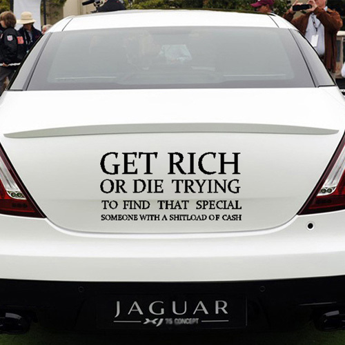 Car Shipping Quote: Get Rich Or Die Trying Quotes. QuotesGram