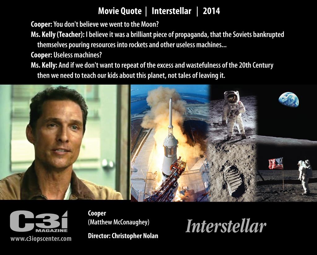 Movie Quotes: Interstellar Movie Quotes. QuotesGram