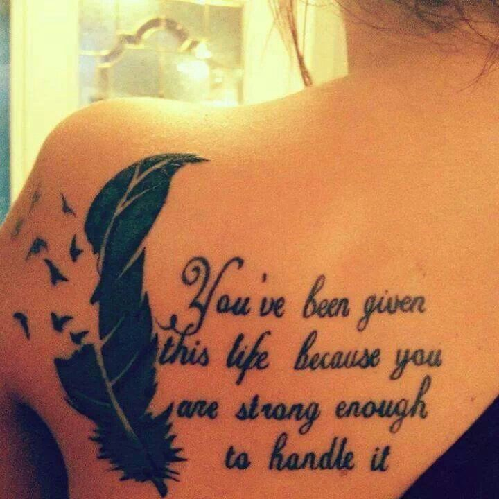 god quotes about life tattoos - photo #36