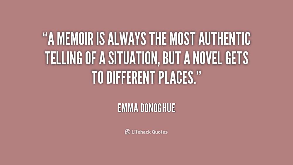 Memoir Quotes. QuotesGram