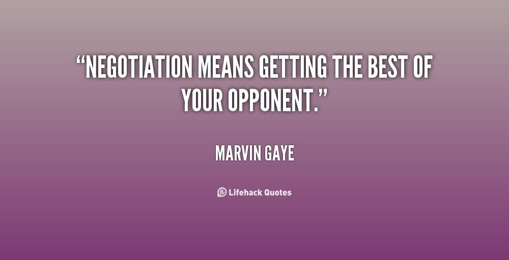 Negotiations Quotes Quotesgram