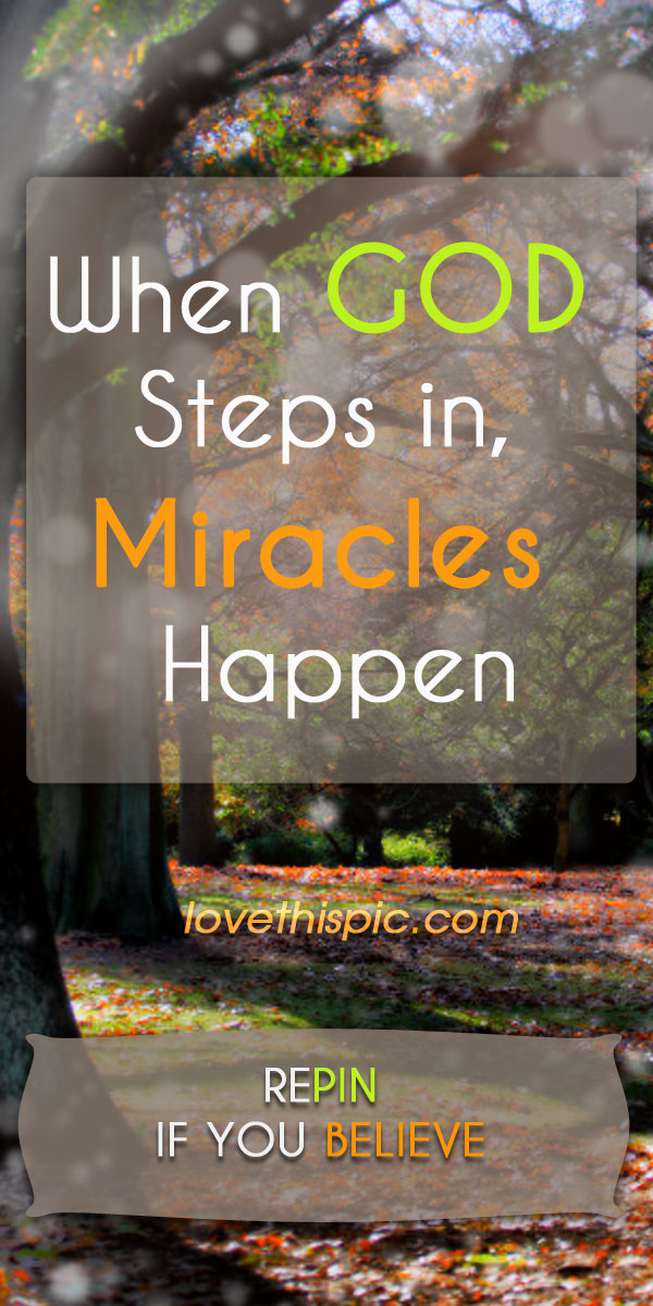 believing in miracles I believe in miracles: the miracles set [kathryn kuhlman] on amazoncom free shipping on qualifying offers this was kathryn kuhlman's theme song, this was her life.