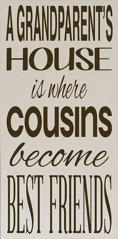 Cousin Quotes For Scrapbooking - 28.0KB