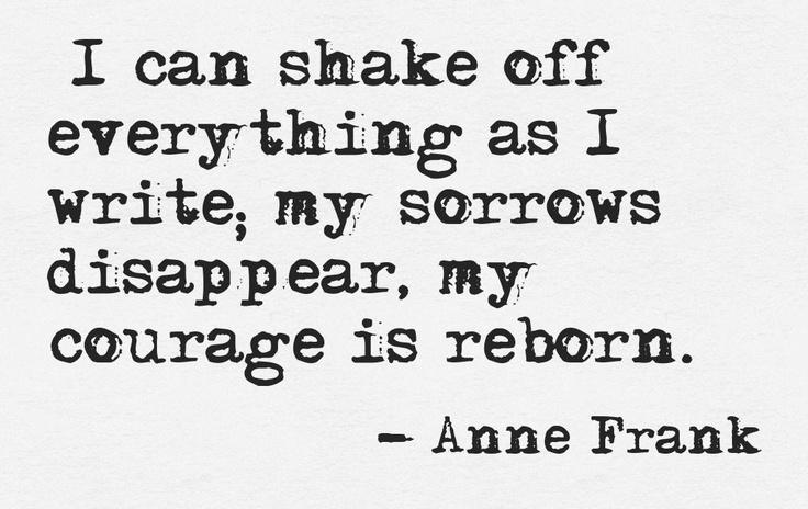 Anne frank essay topics