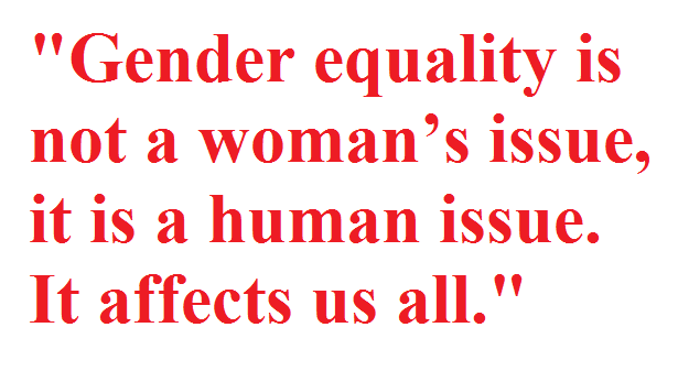 democracy equality between men and women There is a fundamental link between democracy and a of gender equality in politics true gender equality can only result between men and women.