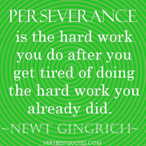Persistence Motivational Quotes: Inspirational Quotes Perseverance. QuotesGram