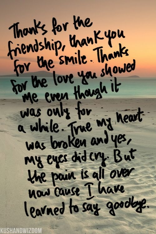 Quotes About Being Hurt By Your Best Friend Goodbye My Dear Friend...